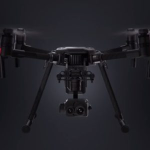 DJi M200 with a Zenmuse XT